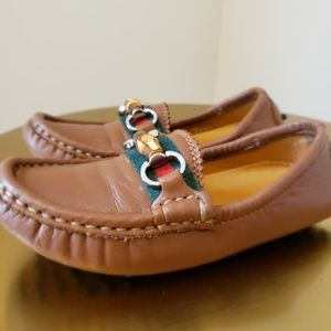 Authentic Gucci Kids Driver Loafers
